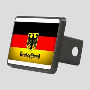 Deutschland Flag Coat of Arms Hitch Cover