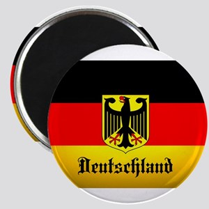 Deutschland Flag Coat of Arms Magnets