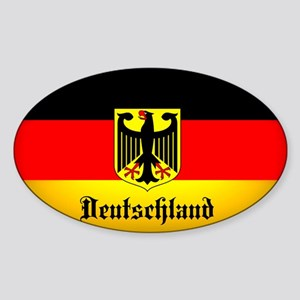 Deutschland Flag Coat of Arms Sticker