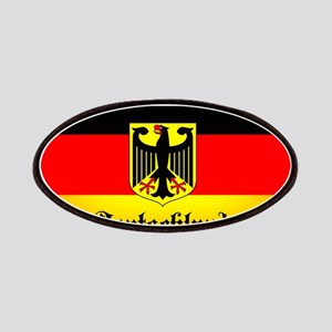 Deutschland Flag Coat of Arms Patch