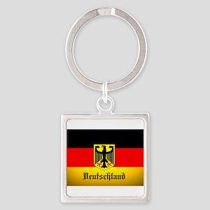 Deutschland Flag Coat of Arms Keychains