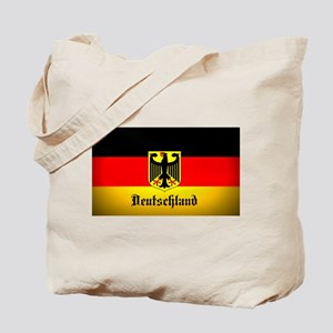 Deutschland Flag Coat of Arms Tote Bag