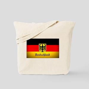 Deutschland Flag Coat of Arms Tote Bag
