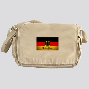 Deutschland Flag Coat of Arms Messenger Bag