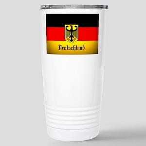 Deutschland Flag Coat of Arms Travel Mug