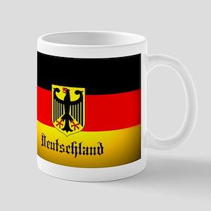 Deutschland Flag Coat of Arms Mugs