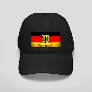 Deutschland Flag Coat of Arms Baseball Hat