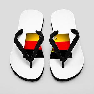 2f8d129c0 Deutschland Flag Coat of Arms Flip Flops