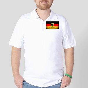 Deutschland Flag Coat of Arms Golf Shirt