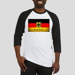 Deutschland Flag Coat of Arms Baseball Jersey