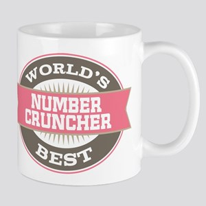 number cruncher Mug