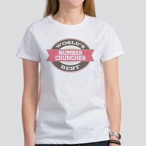 number cruncher Women's T-Shirt