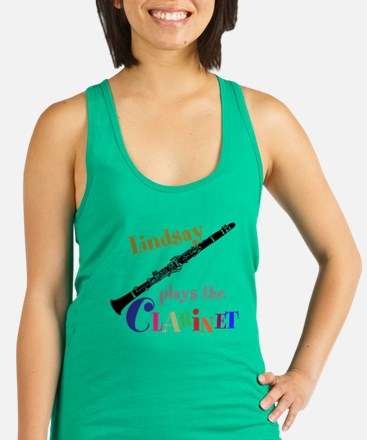 Your Name Plays The Clarinet Tank Top