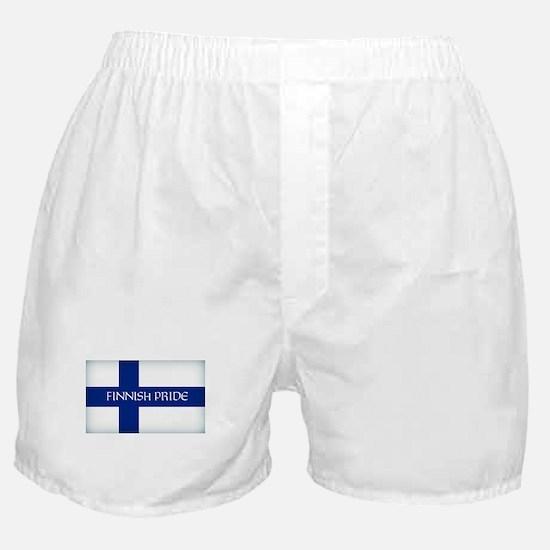 Finnish Pride Boxer Shorts