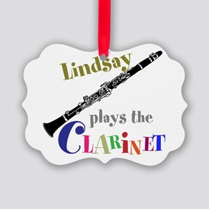 Your Name Plays The Clarinet Ornament