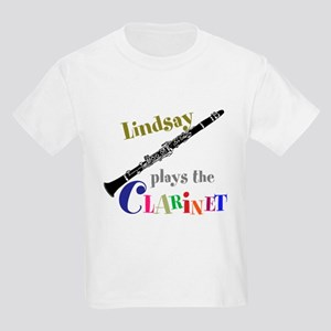 Your Name Plays The Clarinet T-Shirt