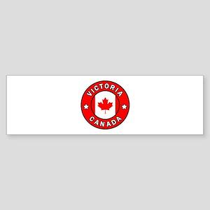 Victoria Canada Bumper Sticker