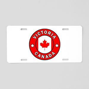 Victoria Canada Aluminum License Plate