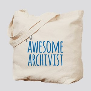 Awesome archivist Tote Bag