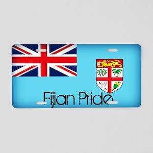 Fijian Pride Aluminum License Plate
