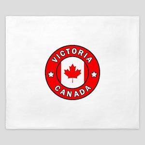 Victoria Canada King Duvet