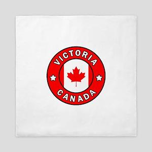 Victoria Canada Queen Duvet