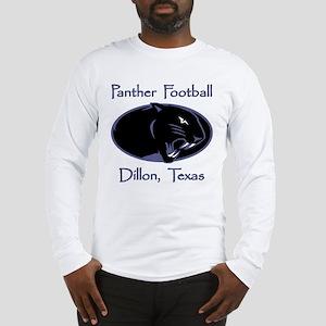 Dillon Panther Football Long Sleeve T-Shirt