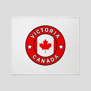 Victoria Canada Throw Blanket