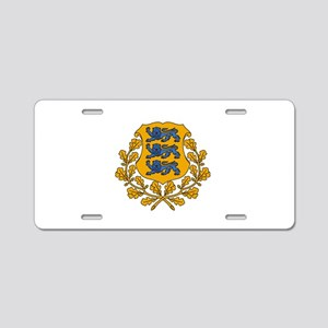 Estonian Coat of Arms Aluminum License Plate
