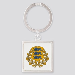 Estonian Coat of Arms Keychains