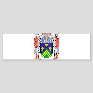 Jessett Coat of Arms - Family Crest Bumper Sticker