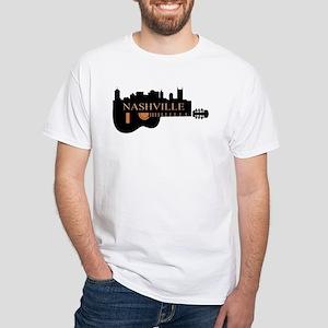 Nashville Guitar Skyline-LT T-Shirt