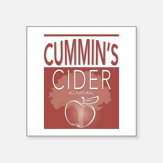 Cummin's Cider Sticker