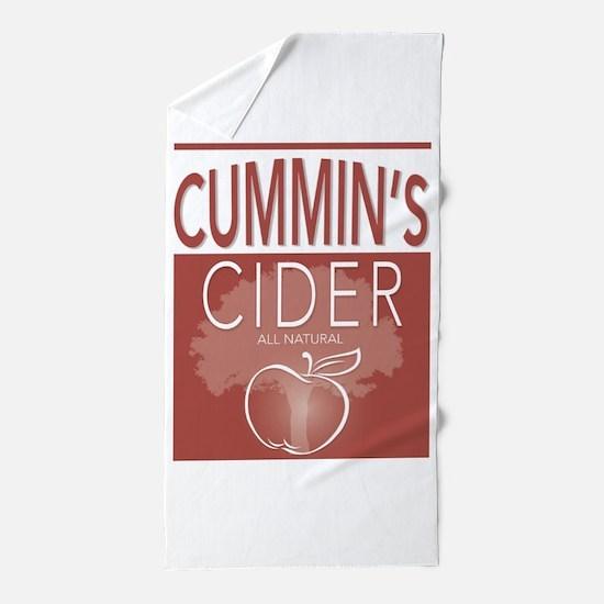 Cummin's Cider Beach Towel
