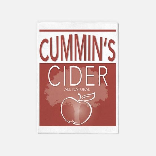 Cummin's Cider 5'x7'area Rug