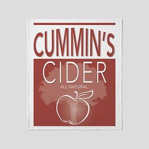 Cummin's Cider Throw Blanket