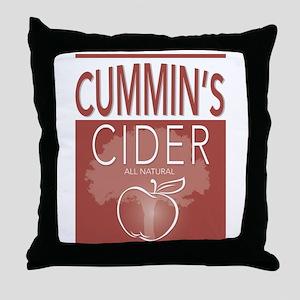Cummin's Cider Throw Pillow