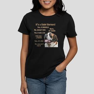 Saint Bernard FAQ T-Shirt