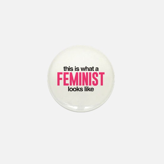 Feminist Mini Button