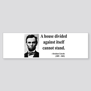 Abraham Lincoln 8 Bumper Sticker