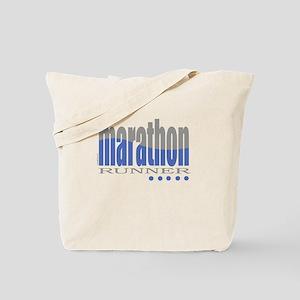 Marathoners Tote Bag