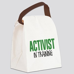 Activist in Training Canvas Lunch Bag