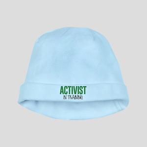 Activist in Training baby hat