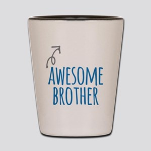 Awesome brother Shot Glass
