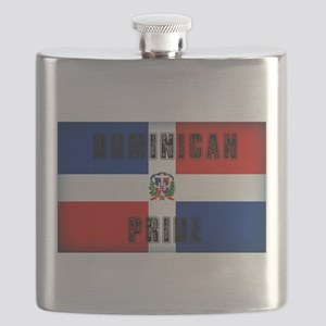 Dominican Pride Flask