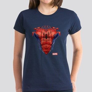 Spider-Man Chest Women's Dark T-Shirt