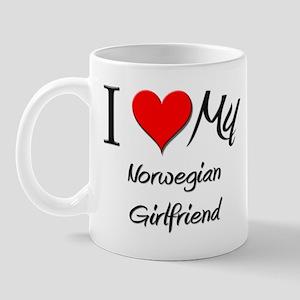 I Love My Norwegian Girlfriend Mug