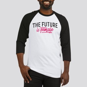 The Future Is Female Baseball Jersey