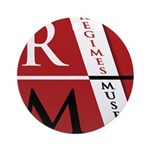 RM Logo Round Ornament