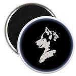 "Husky Puppy 2.25"" Magnet (100 pack)"